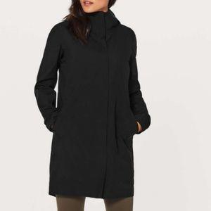 Lululemon Rain Haven Jacket, Size 4, BLK